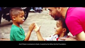 Thanks to one man's thoughtful idea, these kids with HIV had a day they'll never forget