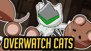 'Overwatch' heroes as cats is perfect internet